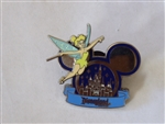 Disney Trading Pin 58721 DLR - Sleeping Beauty Castle in Mickey Ears - Tinker Bell