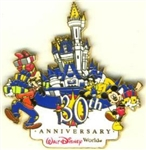 Disney Trading Pin WDW - 30th Anniversary Castle