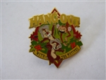 Disney Trading Pin 58976 DLR - The Jungle Cruise Collection 2008 - Chip 'n' Dale - ''Hang Out'' (GWP)