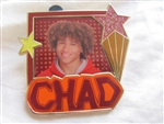 Disney Trading Pin 59093 High School Musical 4-Pin Set (Booster Collection) Chad Only