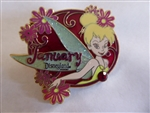 Disney Trading Pin  59292 DLR - Tinker Bell Birthstone Collection 2008 - January (Garnet)