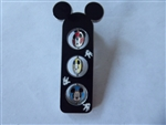 Disney Trading Pin  59399 Character Emotion Spinner - Mickey Mouse and Minnie Mouse
