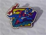 Disney Trading Pin 5949 Blizzard Beach - Ice Gator on a Toboggan