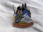 Walt Disney Travel Company - Come Live Your Dreams - Mickey Mouse as Jedi Knight (Gift)