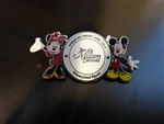 Disney Trading Pin 59625 DLR - Year of a Million Dreams - Where My Dream Came True - Mickey and Minnie Mouse 2008