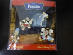 Disney Trading Pins  59674 Walt Disney's Pinocchio - 4 Pin Booster Collection
