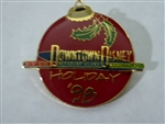Disney Trading Pin  597 Downtown Disney Holiday '98
