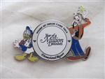 Disney Trading Pins  59811: DLR - Where My Dream Came True Year of A Million Dreams Donald and Goofy Pin