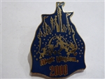 Disney Trading Pins 6: Magic Kingdom Castle - 2000