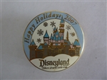 Disney Trading Pin 60250 DLR - Cast Member - Christmas 2007 - Sleeping Beauty Castle