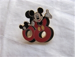 Disney Trading Pin 60326: Mickey and Friends ''2008'' - 5 Pin Boxed Set (Mickey Mouse Only)