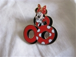 Disney Trading Pin 60327: Mickey and Friends ''2008'' - 5 Pin Boxed Set (Minnie Mouse Only)