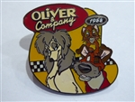 Disney Trading Pin 606: DS - Countdown to the Millennium Series #26: Oliver and Company (Oliver / Dodger / Rita)