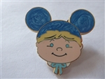 Disney Trading Pins   61048 WDW - It's A Small World Mystery Pin Tin Collection (Boy with Blue Ears)