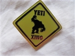 Disney Trading Pins 61078: WDW - Animal Kingdom - Expedition Everest - ''YETI XING'' Street Sign