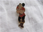 Disney Trading Pin 61100: Walt Disney's Beauty and the Beast - 4 Pin Booster Collection (Gaston Only)