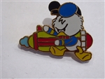 Disney Trading Pin  61160: Flexible Characters Mini Pin Boxed Set - Donald / Space Orbiter Only