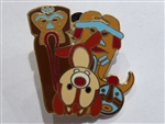 Flexible Characters Mini Pin Boxed Set - Dale at The Enchanted Tiki Room