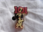 Disney Trading Pin 612: DS - Cast-Exclusive 101 Dalmatians Puppy (Red)