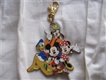 Disney Trading Pin 61554: Mickey Mouse & Friends - Lanyard Medal