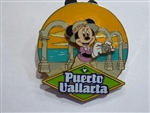Disney Trading Pin 61610 DCL- 2008 Westbound Panama Canal Minnie Puerto Vallarta