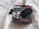 Disney Trading Pin 62446: DLR - Mickey's Pin Odyssey 2008 - Diorama - Jedi Mickey vs. Darth Donald