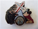 Disney Trading Pins 62447: DLR - Mickey's Pin Odyssey 2008 - Jedi Mickey vs Darth Vader