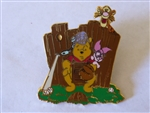 Disney Trading Pins  6310 JDS Walt Disney 100th Year - Pooh & Family #5 (Baseball)