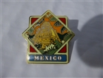 Disney Trading Pin 634 WDW - Epcot World Showcase Pavilion Series (Mexico)