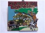 Disney Trading Pins 63448: WDW - Kilimanjaro Safaris® Expedition - Mickey, Minnie and Goofy