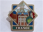 Disney Trading Pin 635 WDW - Epcot World Showcase Pavilion Series (France)