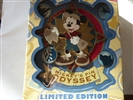 Disney Trading Pin  63545 DLR - Mickey's Pin Odyssey 2008 - Jumbo Compass and Four Pin Boxed Set (Mickey Mouse)