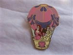 Disney Trading Pin 63556: Hot Air Balloon - Mystery Pin Collection (Ariel and Belle Only)