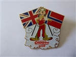 Disney Trading Pin  63605 Summer of Champions - Goofy with British and Norwegian Flags
