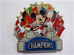Disney Trading Pin 63955 Summer of Champions - Mickey with Flags