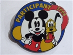 Disney Trading Pins United Way Participant 2008 - Mickey Mouse and Pluto