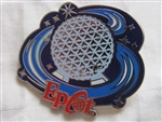 Disney Trading Pin 64272: WDW - Booster Pack - Walt Disney World® Theme Parks Swirl Logos (Epcot Only)
