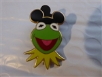 Disney Trading Pin Muppets with Mouse Ears - Kermit