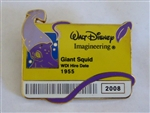 Disney Trading Pin 64433 WDI - I.D. Badge Series 2 - The Giant Squid
