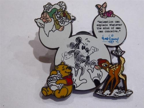 disney trading pins 64815 dlr disney dreams collection animation