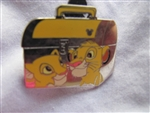 Disney Trading Pin 64872: DLR - 2008 Hidden Mickey Series - Back to School Bus & Lunch Box Collection - Simba & Nala