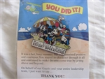 Disney Trading Pin 65073: WDW - Summer 2008 - Cast Member ''Thank You'' (Fab 4)