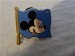 Disney Trading Pins FUN ICONS - Mickey Flag