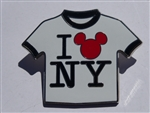 Disney Trading Pins 65942 WOD NYC - T-Shirt - ''I Love NY''