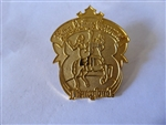 Disney Trading Pins 659 DL - 1998 Attraction Series - King Arthur Carrousel gold Prototype