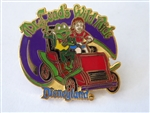 Disney Trading Pins  661 DL - 1998 Attraction Series - Mr. Toad's Wild Ride (J. Thaddeus Toad)