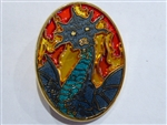 Disney Trading Pin 66139 DSF - Stained Glass Dragons - Queen Narissa