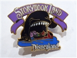 Disney Trading Pins 662 DL - 1998 Attraction Series - Storybook Land (Monstro)