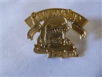 Disney Trading Pins 662 DL - 1998 Attraction Series - Storybook Land (Monstro) gold Prototype