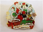 Disney Trading Pin  66362 WDW - Mickey's Very Merry Christmas Party 2008 - Framed Set Completer Pin Only